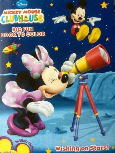 disney mickey mouse clubhouse coloring book wishing on stars by disney 720 96 - Mickey Mouse Colouring Games