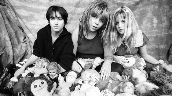 Babes in Toyland is an American punk rock band formed in Minneapolis, Minnesota in 1987. The band was founded by vocalist and guitarist Kat Bjelland, drummer Lori Barbero and bassist Michelle Leon, who was later replaced by Maureen Herman in 1992.  While the band was inspirational to some performers in the riot grrrl movement in the Pacific Northwest, Babes in Toyland never associated themselves with the movement.
