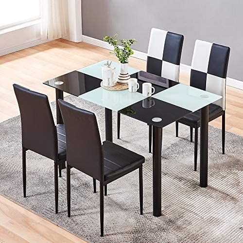 33+ Glass dining table and 6 chairs amazon Inspiration