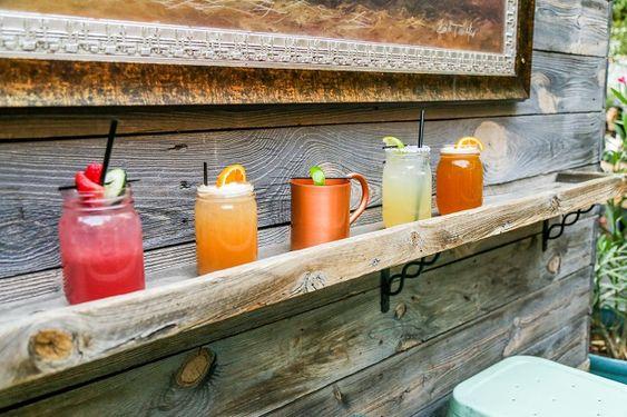 Park on Fremont - cocktails selection