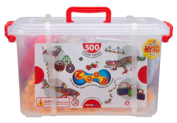 Amazon.com: ZOOB 500 Piece Building Set: Toys & Games