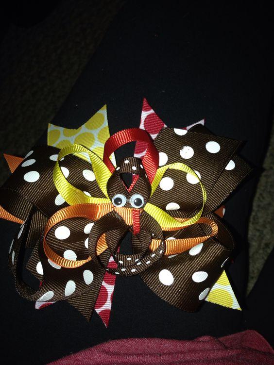 Thanksgiving bow!