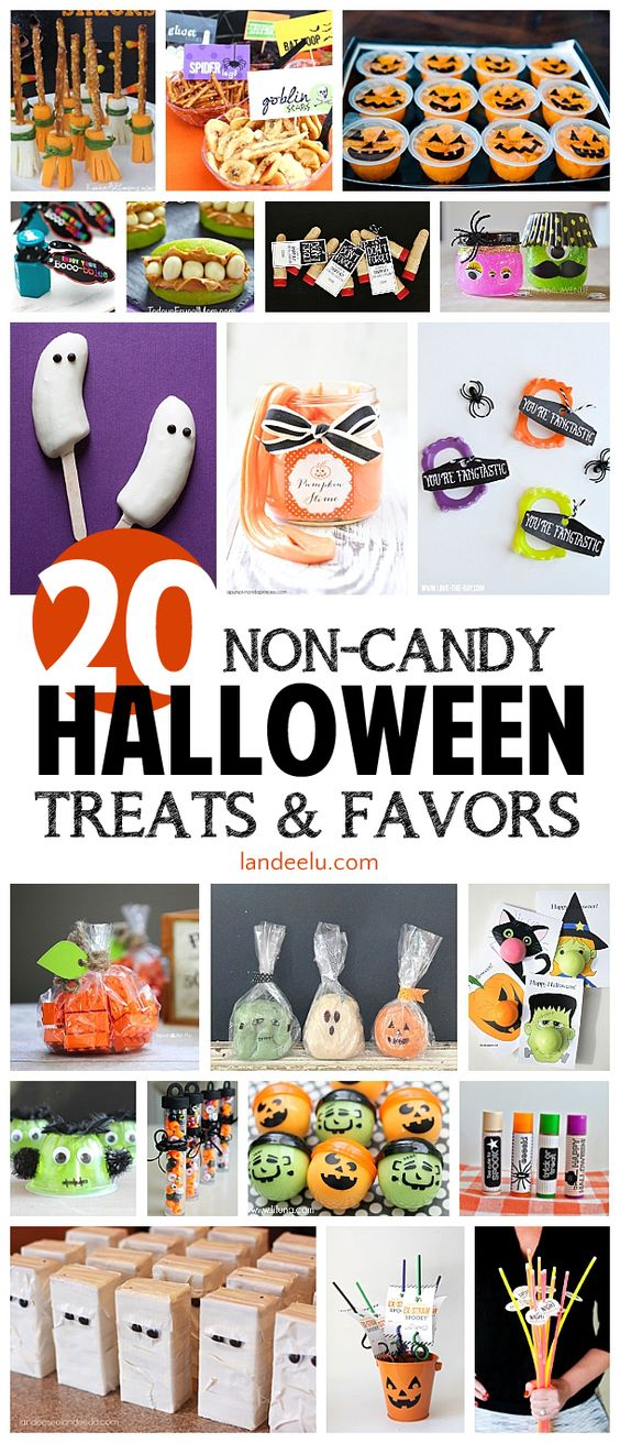 Classroom Birthday Ideas Non Food ~ Non candy halloween treats and party favors
