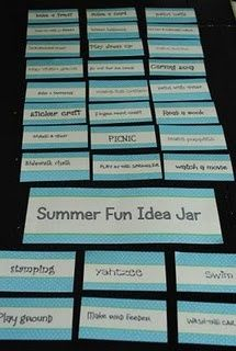 great ideas for the girls in the summer