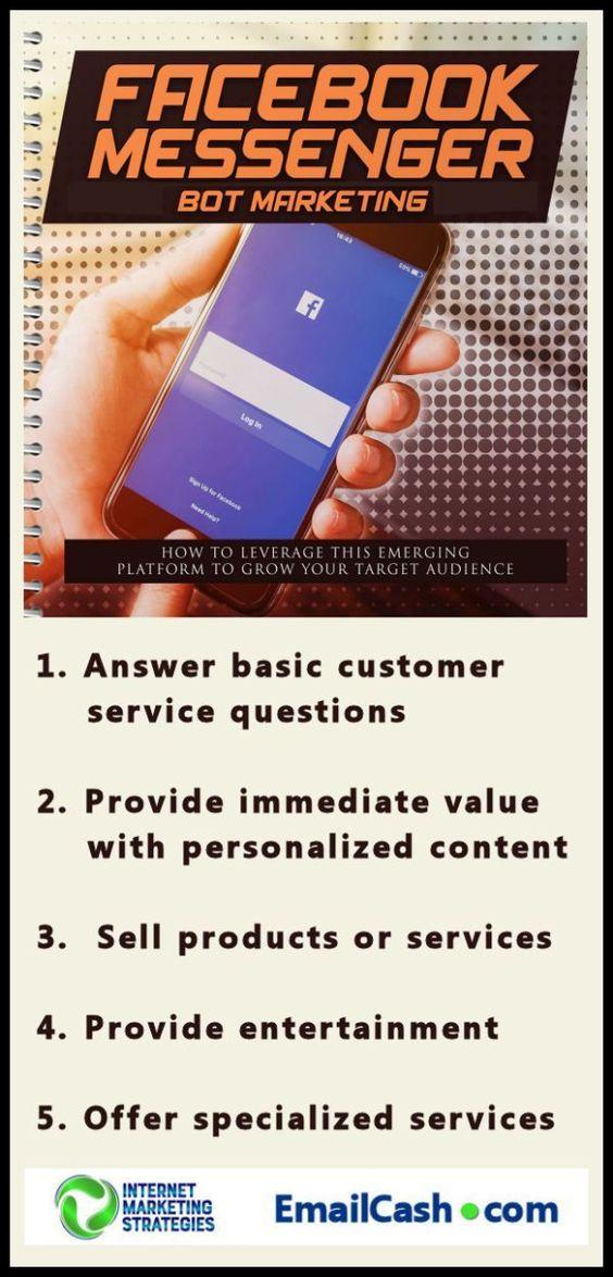 How To Set Up Facebook Messenger Bot Internet Marketing Internet Marketing Strategy Internet Marketing Business