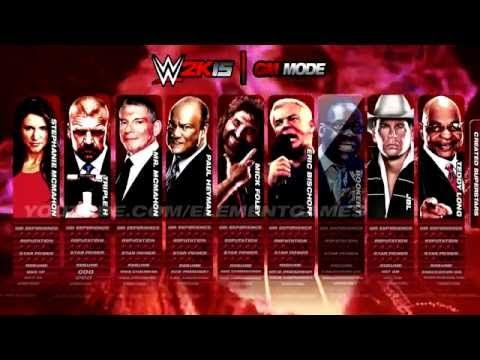 WWE 2K15 Gameplay - GM MODE - PS4, Xbox One, PS3, Xbox 360. Concept. - YouTube see it now in crisp 1080p! #wwe2k15 #raw #wwenetwork