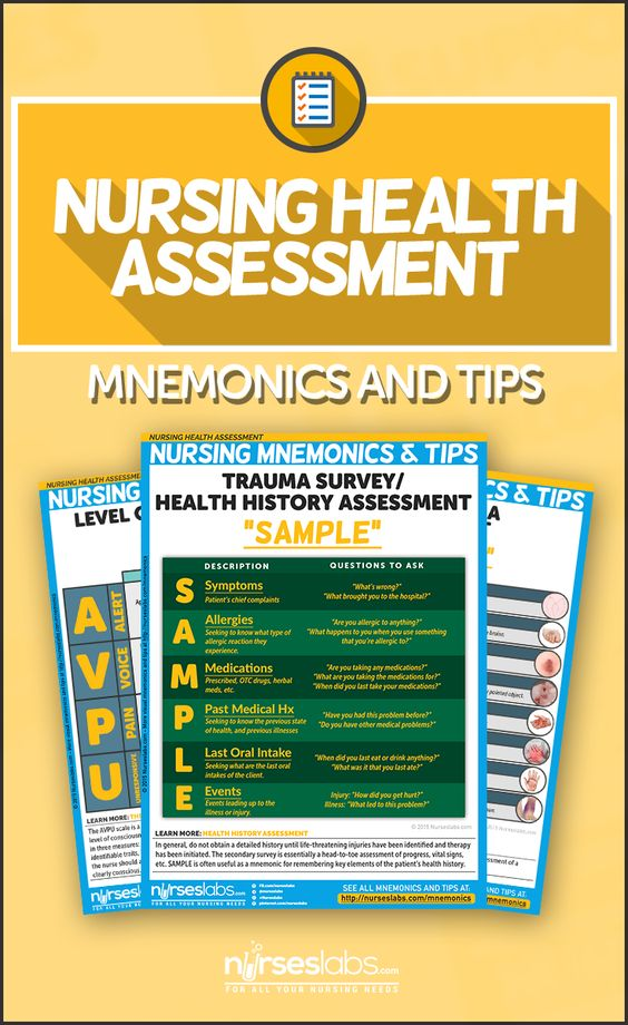Nursing Health Assessment Mnemonics  Tips  Avaliao Beleza E Sade