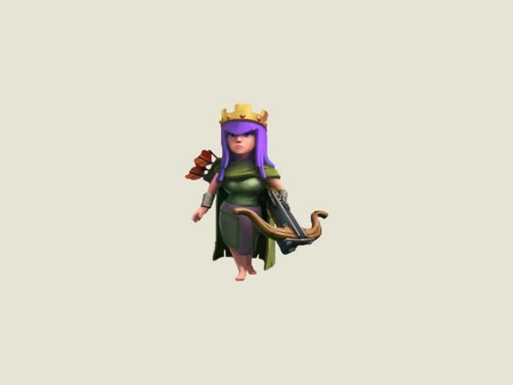 Clash of Clans Queen Archer - Learn about your Defense, Offense, Glitch, Levels, Strategies and Upgrade Costs for your Clash of Clans Queen Archer...