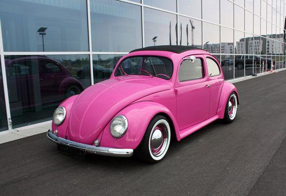 Pink Volksvagen Dream Car ♥ App for Volksvagen https://itunes.apple.com/us/app/volkswagen-indicators-warning/id925906270?ls=1&mt=8