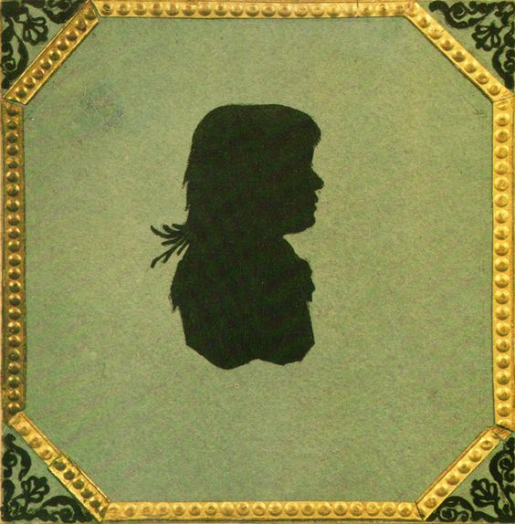 This silhouette is the only image of Maria Nikolaevna Volkonskaya (1790 – 1830), Leo Tolstoy's mother. 1810s. #Leo_Tolstoy