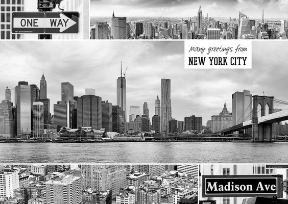 New York City (Multipicture) | Urlaubsgrüße | Echte Postkarten online versenden…