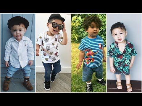 اشيك ملابس اولاد صغار للعيد 2018 اطقم العيد اولادي صيفي 2018 ملابس اطفال Youtube