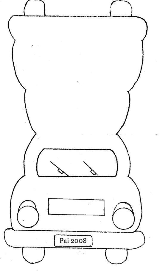 Car Shaped Card Template Designer Resource Medios de transporte - printable car template