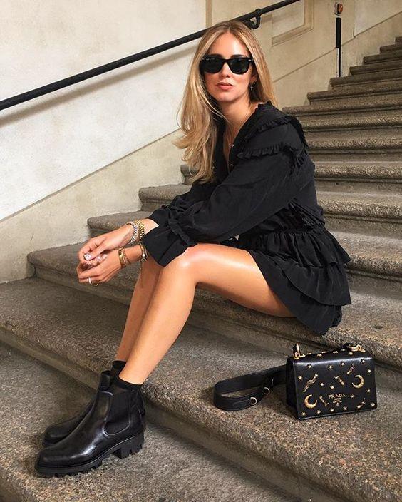 Sola tratorada: assim como nós, Chiara também aposta na sola mais tendência do momento.: