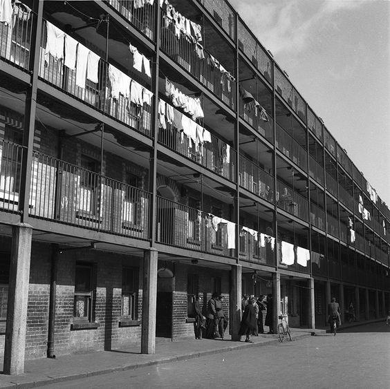 Ireland | Bock-Schroeder 1956 Corporation Buildings flats