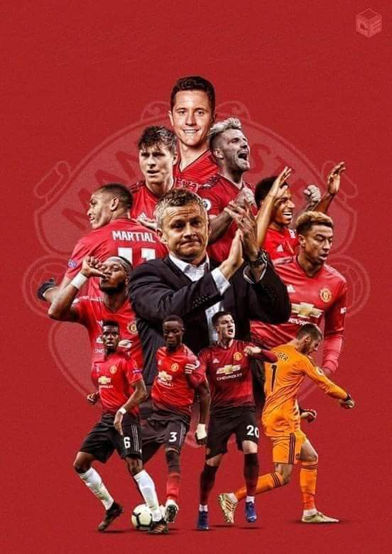 We Are United Manchester United Team Manchester United