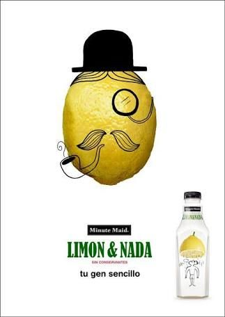 Portfolio Piece #4 Minute Maid Ad created for Elements of Visual ...