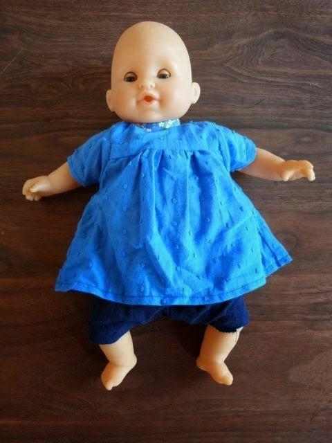 Vêtements pour poupées corolles 30cm Tire la bobinette... : Couture miniature