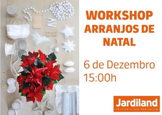 Reserve já o seu lugar através do email: comunicacao@jardiland.com
