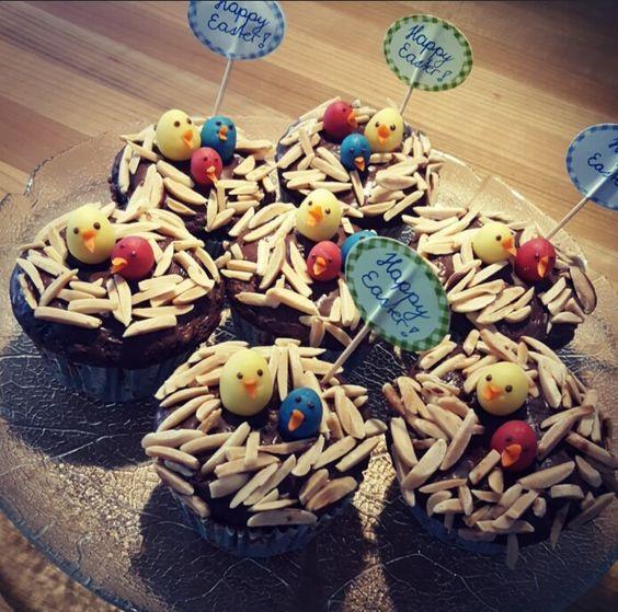 Muffins an Ostern