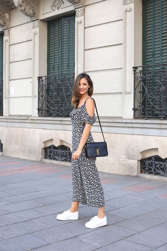 20 Looks Para Usar Con Zapatillas De Lona | Cut & Paste – Blog de Moda