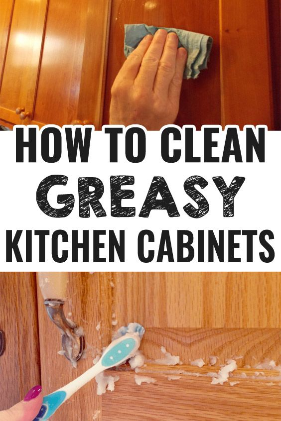5 Amazing Hacks To Clean Greasy Kitchen Cabinets That Are Beyond Genius Clean Greasy Kitchen Cabinets How To Clean Greasy Kitchen Cabinets Cleaning Hacks
