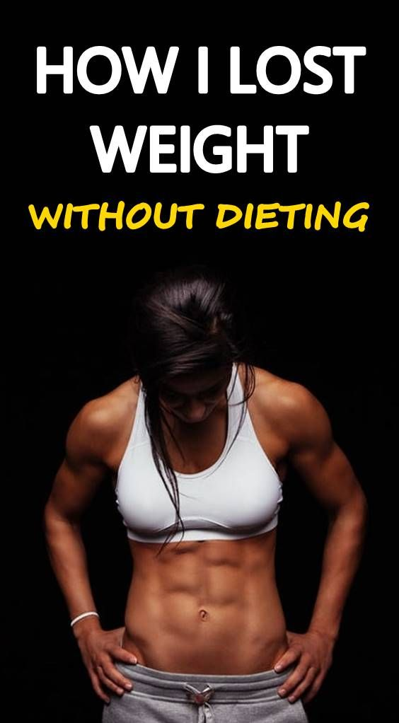 what if you workout without dieting