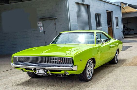 Lime light 68'Dodge Charger R/T.