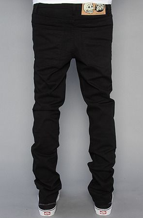 Cheap Monday Men&39s The Core Tight Fit Jeans in OD Black Wash