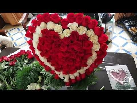 49+ Corazones hechos con flores naturales ideas