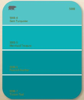 Holiday Turquoise Sw  Kitchen Behr Paint