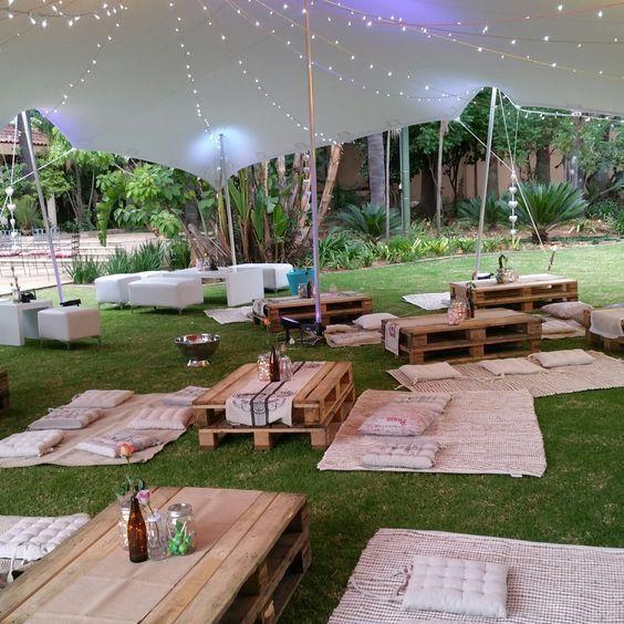 Maybe Can Replace With Transparent Canopy Decor De Fete En Plein Air Decorations De Garden Party Idee Deco Festival