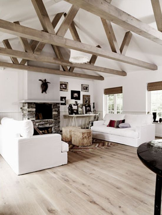 One Story Hip Roof Addition Ideas To Two Story Farmhouse: Magazines, Interiors And Beams