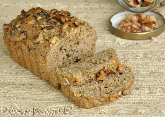 Fluffy Banana and Zucchini Bread