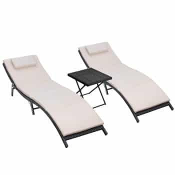Top 15 Best Folding Lounge Chairs Of 2020 Reviews Sport Outdoor
