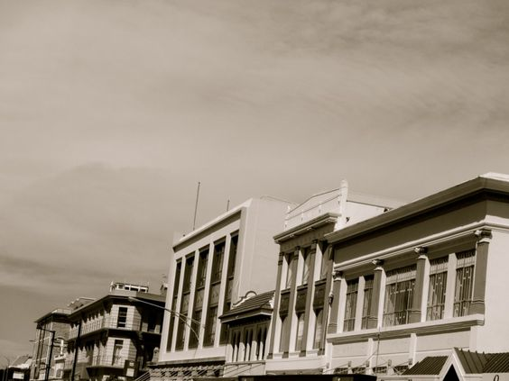 Art Deco Buildings in Napier, New Zealand