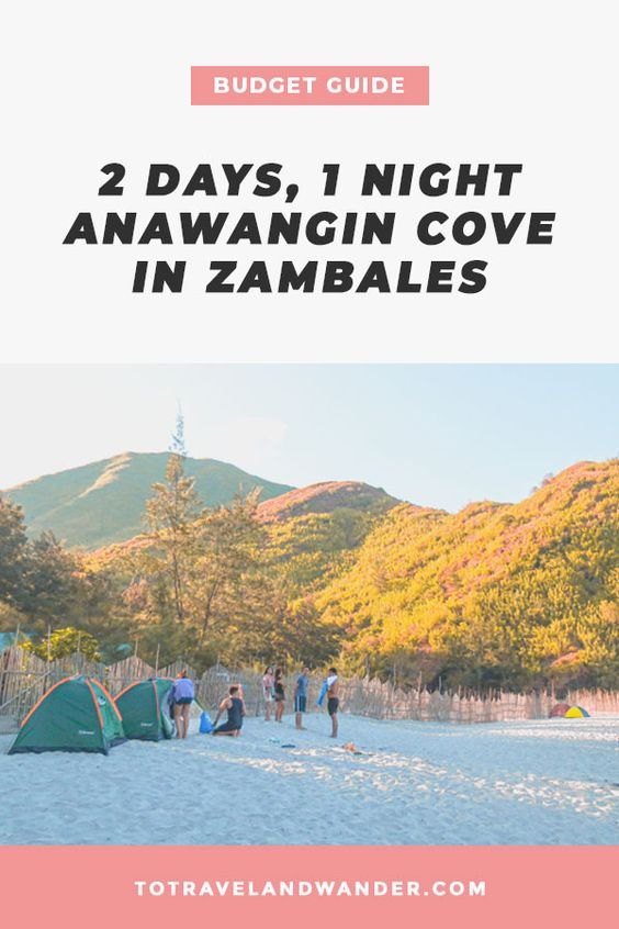 Anawangin Cove in Zambales Travel Budget Guide