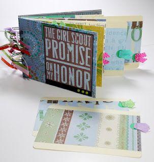 Girl Scout Scrapbook Mini Album
