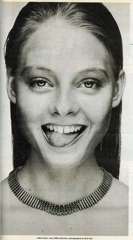 Jodie Foster 1980.: Bob Kiss, Young Jodie, Jodie Foster, Foster 1980