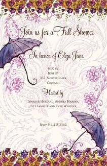 SHOWER #INVITATIONS, SHOWER ME, BELLA INK