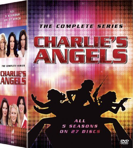 """""""Charlie's Angels"""" The Complete Series DVD box set (Sony ..."""
