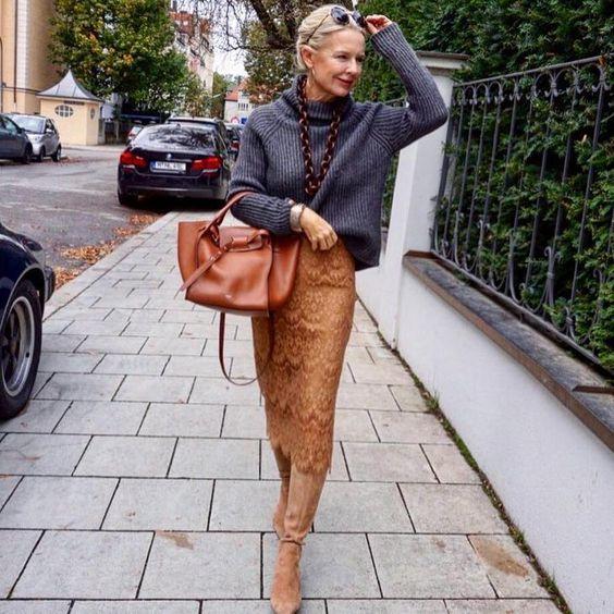 32 невероятно элегантных образа 2019 для женщин после 50 лет | Новости моды