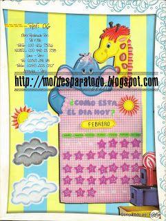 Moldes para Todo: *♥* Calendarios
