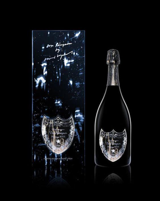 David Lynch Designs Labels For Dom Pérignon