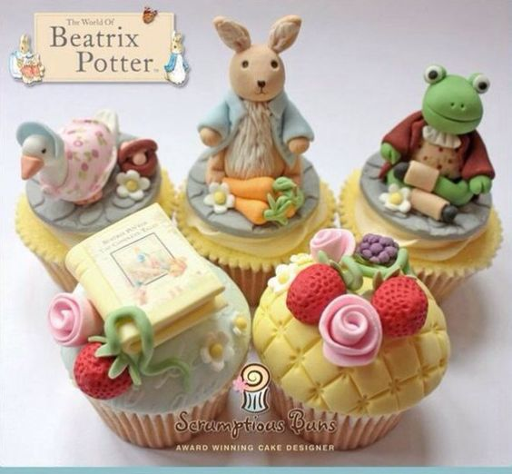 Beatrix Potter Cupcakes