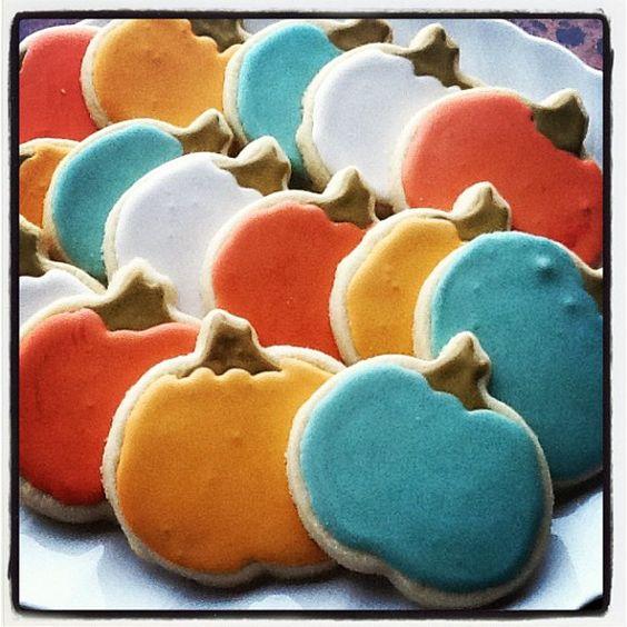 Heirloom Pumpkins ~ made by me:)