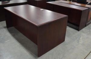 Office Desk Cherry Wood