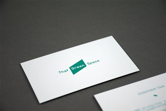 That Green Space branding and identity for That Green Space, 2013 --- http://quest-ce.com/work_2013_thatgreenspace.php