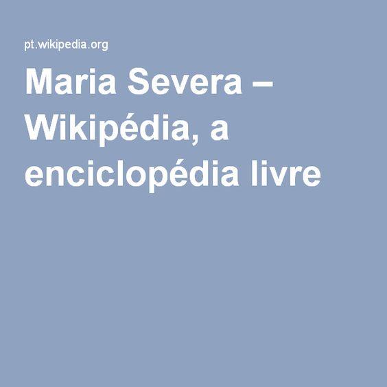 Maria Severa – Wikipédia, a enciclopédia livre