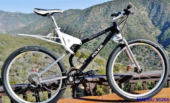Mtb mercedes benz and police on pinterest for Mercedes benz mountain bike